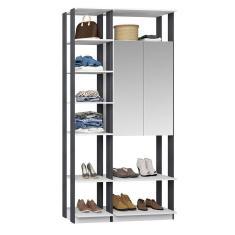 Imagem de Guarda-Roupa Closet com Espelho 9007 Bentec