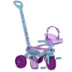 Imagem de Triciclo de Passeio e Pedal - Mototico - Disney - Frozen 2 -  e Roxo - Bandeirante 3095