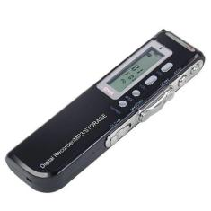 Imagem de Mini Gravador De Áudio Voz Digital 8Gb Escuta Telefônica Mp3