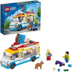 Imagem de Lego City Veiculo Ice Cream Van De Sorvetes 200 Peças Para Montar