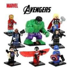 Imagem de Lego Star Wars, Vingadores E Robôs