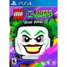 Jogo LEGO DC Super-Villains Edição Deluxe PS4 Warner Bros