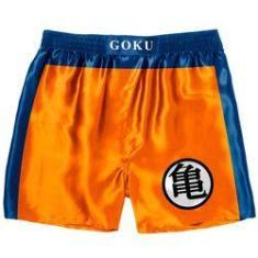 Imagem de Cueca Samba Canção Geek - Dragon Ball Goku Boxing