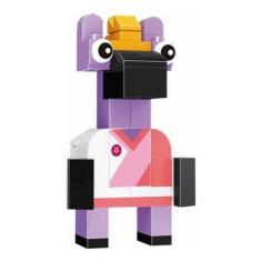 Imagem de Boneco Blocos De Montar Zebe Personagem Lego Movie