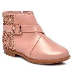 Imagem de Bota Infantil Ankle Boot Molekinha 2167221 Glitter