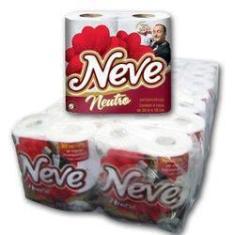 Imagem de Papel Higienico Neve C/64 Rolos De 30M (16 Pacotes De 4RLS) Folha Dupla Neutro