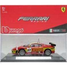 Imagem de Ferrari F430 GTC - 24h Le Mans 2008 - Ferrari Racing Series - 1/43 - Bburago