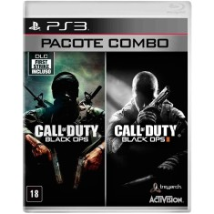 Jogo Combo Call of Duty Black Ops e Black Ops II PlayStation 3 Activision