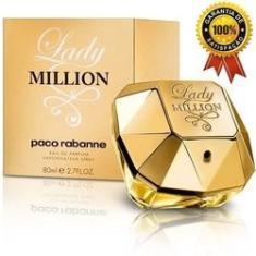 Imagem de Perfume Feminino Lady Million 80ml Edp Original