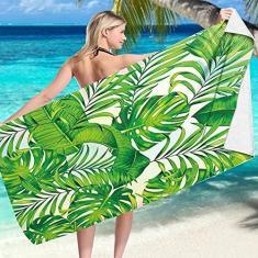 Imagem de Toalha de praia de microfibra livre de areia – Arte geométrica de secagem rápida, super absorvente, toalhas de banho macias para viagens, piscina, banho, acampamento, ioga