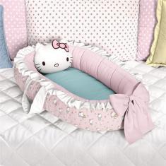 Imagem de Ninho Bebê Redutor Berço  Hello Kitty Grão de Gente