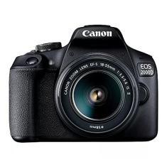 Imagem de Câmera Fotográfica EOS 2000D KIT 18-55 mm IS II Canon