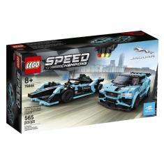 Imagem de LEGO Speed Champions Formula E Jaguar Racing GEN2 car e I-PACE eTROPH 76898