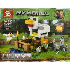 Imagem de Lego Minecraft Montagem My World 210 Mini Peças Crianças Mega Promoção Garanta Já