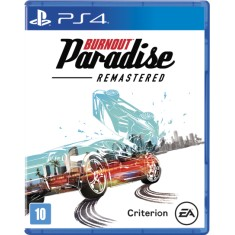 Jogo Burnout Paradise Remastered PS4 EA