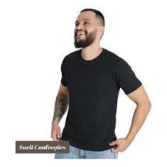 Imagem de Camiseta Básica Masculina  Algodão 30.1 Camisa Atacado Lisa