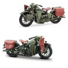 Imagem de Miniatura Moto Flathead 1942 Harley Davidson Maisto 1:18