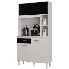 Imagem de Cozinha Compacta 1 Gaveta 4 Portas Duda A881 Poquema