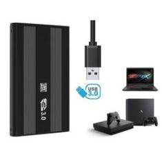 Imagem de Hd Externo De 500gb para pc,notebook,videogames,tv e outros usb.3.0 super rapido