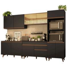 Cozinha Completa 1 Gaveta 11 Portas Reims 310001 Madesa