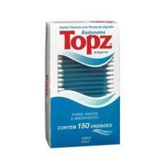 Imagem de Cotonetes Topz Bastonetes Hastes Flexíveis 150 Unidades