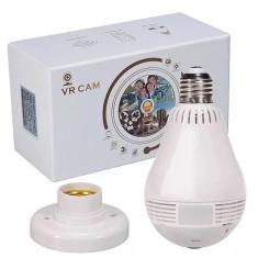 Imagem de Lâmpada Espiã Câmera Vr Cam Led Wifi 360° V380-V9-2