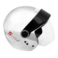Capacete EBF Street Shield Solid Aberto