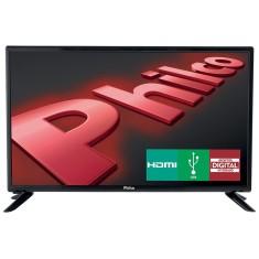 "TV LED 28"" Philco PH28N91D 1 HDMI USB Frequência 60 Hz"