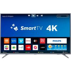 "Smart TV LED 58"" Philips 4K 58PUG6513 3 HDMI"