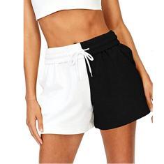 Imagem de Moda feminina casual esportiva bandagem calça esportiva calções esportivos