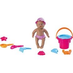 Imagem de Boneca Bebê Mania Praia Roma Brinquedos