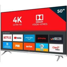 "Smart TV LED 50"" AOC 4K HDR 50U6305 3 HDMI"