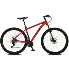 Imagem de Bicicleta Mountain Bike Colli Bikes 21 Marchas Aro 29 Suspensão Dianteira Freio a Disco Mecânico Atlanta 532