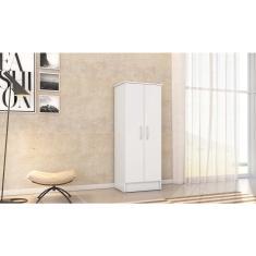 Imagem de Armário Multiuso Viena 2 Portas e 3 Prateleiras Closet Para Lavanderia Cozinha Quarto Organizador de Objetos  - Demóbile