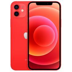 Smartphone Apple iPhone 12 Mini Vermelho 64GB iOS Câmera Dupla