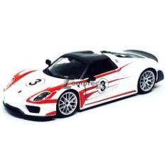 Imagem de Miniatura Porsche 918 Weissach Bburago 1/24