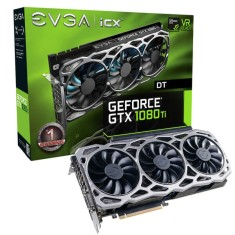 Placa de Video NVIDIA GeForce GTX 1080 Ti 11 GB GDDR5X 352 Bits EVGA 11G-P4-6694-KR