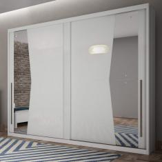 Guarda-Roupa Casal 2 Portas Geom Siena Móveis