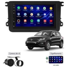 "Imagem de Central Multimídia Automotiva Tay Tech 7 "" Volkswagen Tiguan Touchscreen Bluetooth"