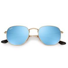 Óculos de Sol Unissex Ray Ban Hexagonal RB3548 f0f9573671