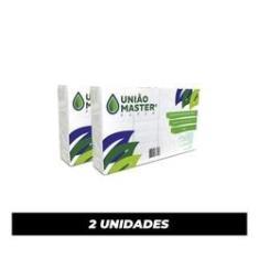 Imagem de Papel toalha interfolha Luxo 2 dobras 23X21cm fardo com 1000Fls - Kit 2 Fardos