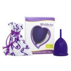 Imagem de Novo Coletor Menstrual Violeta Cup Tipo A Ou B