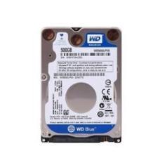 Imagem de HD 500Gb Sata 3 WD Blue Notebook 7MM 5400RPM 16MB WD5000LPCX