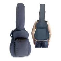 Capa Violao Folk Bag Acolchoada Extra Luxo Impermeavel Mellody ka05