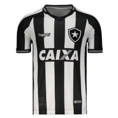 f129bd5c891f5 Camisa Botafogo I 2018 19 Torcedor Masculino Topper