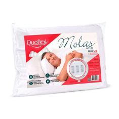 Imagem de Travesseiro Duoflex de Molas MN1100 200 Fios p/ Fronha 50x70