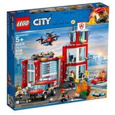 Imagem de LEGO City - Quartel General dos Bombeiros - 60215