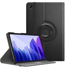 Imagem de Capa Tablet Samsung Galaxy Tab A7 10.4 T500 T505 Giratória Executiva Rotação Preta