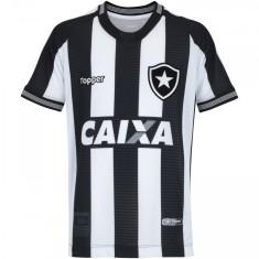 Camisa Infantil Botafogo I 2018 19 Torcedor Infantil Topper 5c63ee631212e