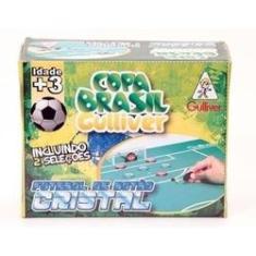 Imagem de Jogo de Futebol de Botão Cristal com 2 Seleções - Brasil X Argentina - Gulliver